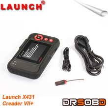 New high quality Launch auto Code Reader Launch X431 Creader VII+ can read car codes changed from CRP123