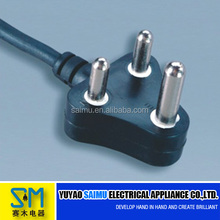 South African 220v high-current female power cable plug