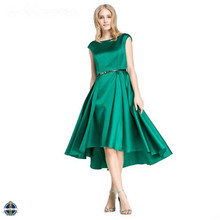 T-D530 China Supplier Flowy Satin Womens Dresses Wholesale Clothing