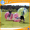 Promotional price!!! TPU/PVC 1.2m/1.5/1.6/ 1.8 m inflatable bubble human soccer, bubble football, human loopy ball for sales