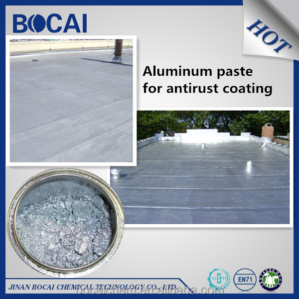 silver aluminum paste for acrylic building coating