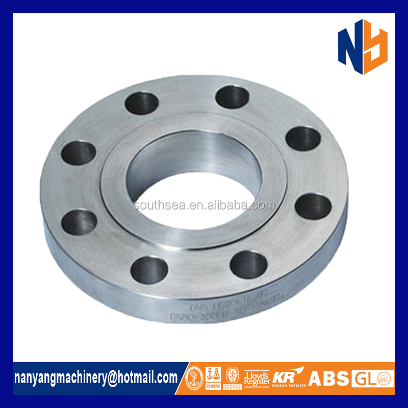 Carbon steel forged blind lap joint flange