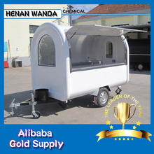 Hot dog selling use cheap hand push The best selling mobile bike food cart for sale