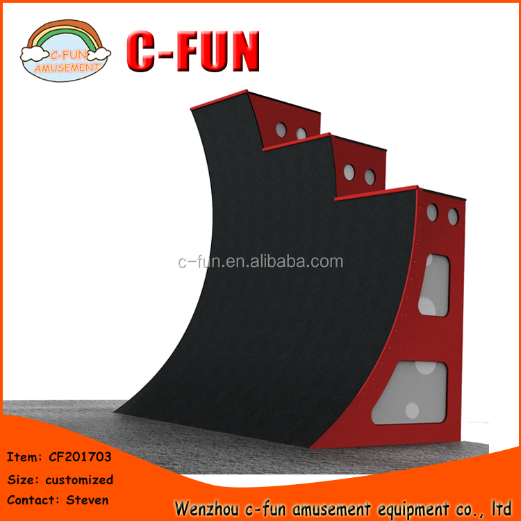 Adult challenge games outdoor ninja course warped wall ninja obstacle