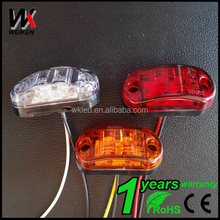 WEIKEN LED side marker and clearance light/ truck led side marker lamp