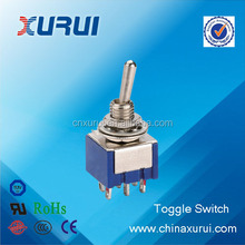 factory supplier 6a mini toggle switch