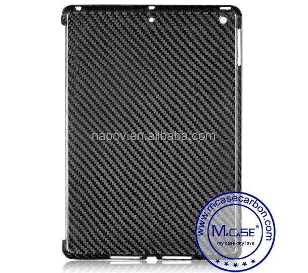 China New Tablet Carbon Fiber Back Case For iPad Air 1