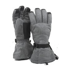 Rechargeable lithium battery electric heating snowboard gloves