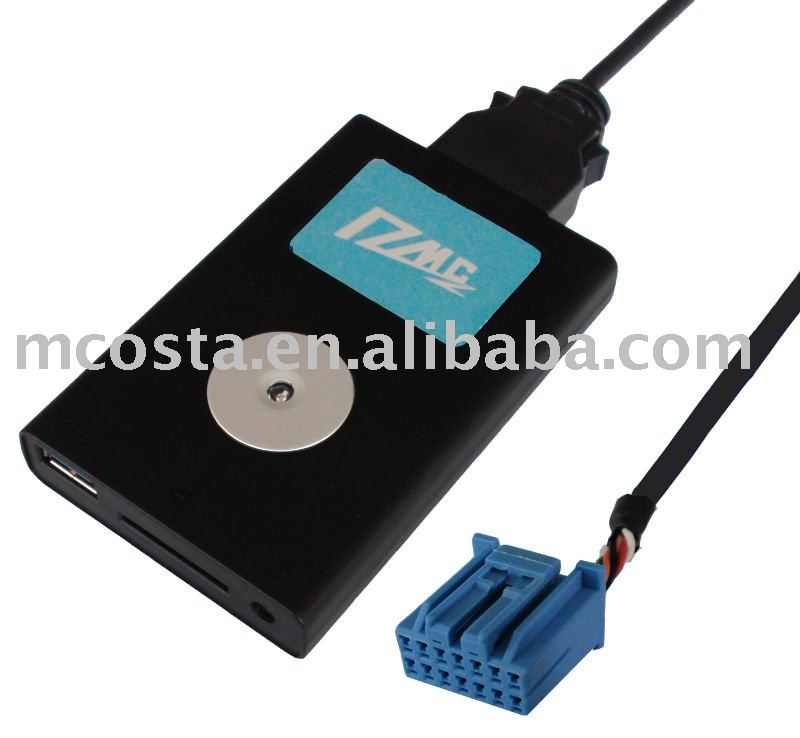 USB Adapter MP3 Player for Car Radio