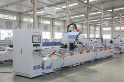 Aluminum Profiles High-speed Drilling-milling CNC Processing Center / Curtain Wall Three Axis CNC Router Machine
