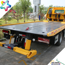 customized available 700P NPR chassis car carrier tow truck middle duty hydraulic car rescue rollback truck