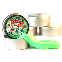 2017 Novelty Toys glow in dark bouncing putty