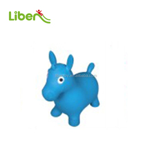 inflatable animal bouncers of inflatable jumping horse for children
