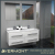 2017 Italian design modern bathroom cabinet