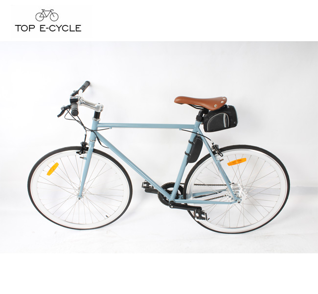 China fashionable city racing bicycle single speed electric bike