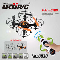 2014 NEW product Udirc 2.4Ghz Mini toy 4 Channel 6 AXIS Hand sensor quadcopter with Gyro U830