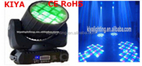 quad led moving head light, effect stage light sharpy 12pcs 10w 4 in 1 led beam moving head light