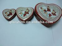 Heart tin packing