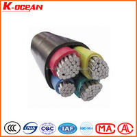High Quality Low Voltage 0.6/1kV XLPE Insulated PVC Cover Al Aluminum Power Cable