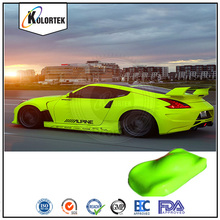 UV fluorescent powder for auto paint, neon pigment car paint colors factory