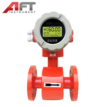 water flow rate instrument electromagnetic liquid flow meter