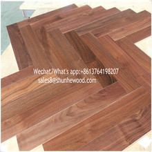Best price high end pattern 3ply American walnut engineered wood/parquet flooring