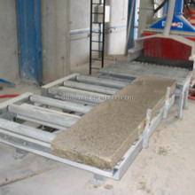 Continuous Concrete Blocks Shot Blasting Machine