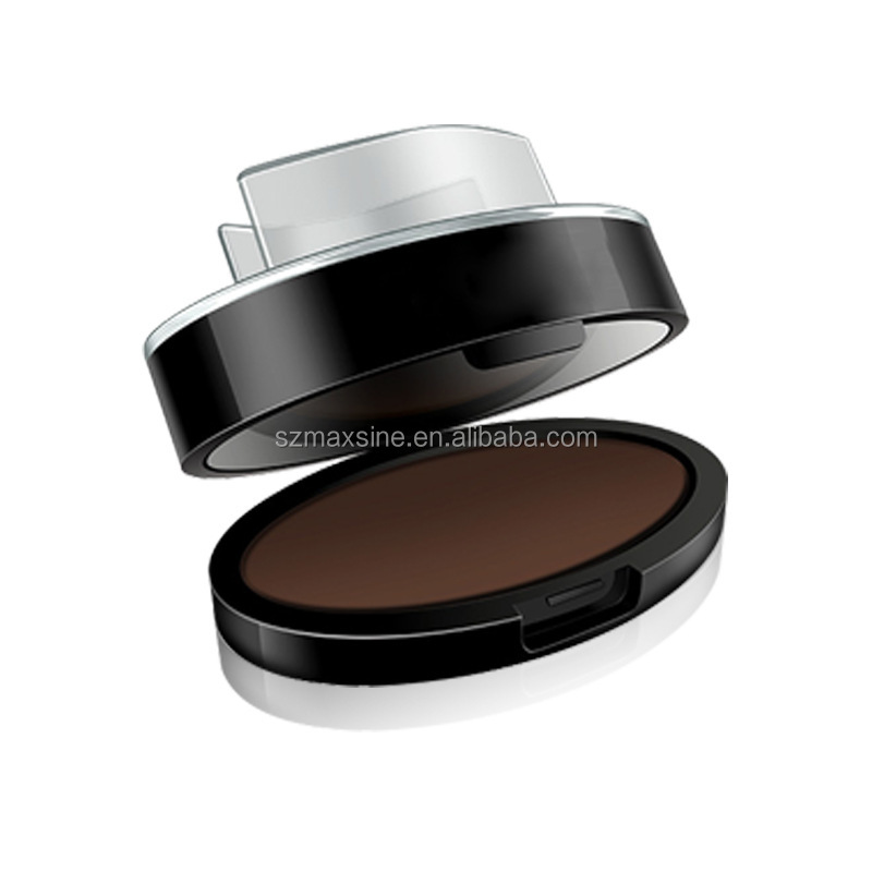 New Design Fast Longlasting Waterpoof Eyebrow Powder Stencils Brow Stamps Seal With Puff