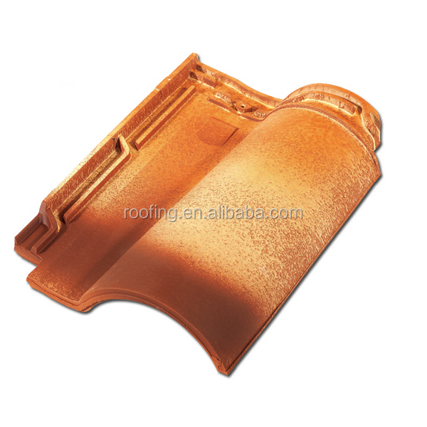 Hot Sale European Style Ceramic Clay Roof Tile