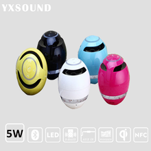 2017 Alibaba new product egg Fabric Speaker Handsfree Receive Call Music Portable Household Subwoofer Wireless Speaker Bluetooth