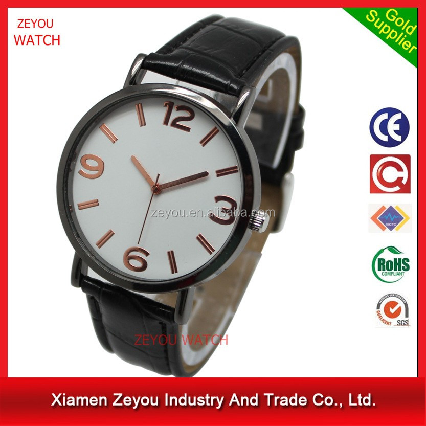 R0797 2016 Small MOQ accept paypal quartz custom wrist watch luxury watch mens