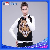 Latest New style sweater, Intarsia Sweater, Ladies Fancy Sweater