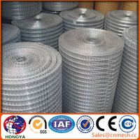 Galvanized Welded Wire Mesh Cheap/2x2 galvanized welded wire mesh for fence panel from anping