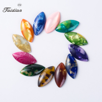 Taidian Brand 11x22mm Multicolor Horse Eye