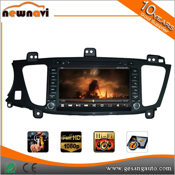 8 inch for KIA K7 car dvd player with GPS BT RDS Radio TV steering wheel control