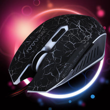 "MS-X9 LED Wired Gaming Mouse 4000 DPI Plug and Play Optical Mice Hot selling ""optical mice"" free sample"