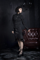 latest design fashinable shock dark alternative free gothic clothing patterns Q-035