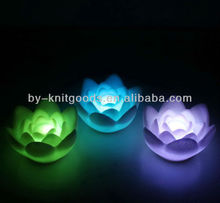 2013 flashing lotus colorful light toy festival flashing led