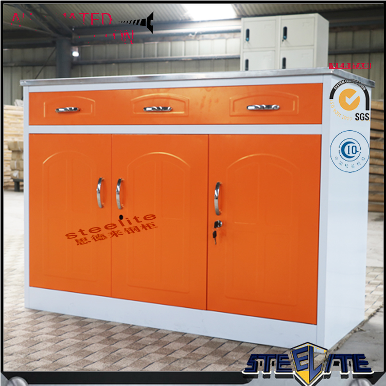 orange and white color combinations new model cast iron kitchen sink cabinet designs for small kitchens