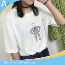 korea lovely cotton ladies t-shirt sleeve long women t-shirts summer tshirt