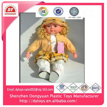 ICTI factory 2014 baby dolls for 3 year olds Made in China