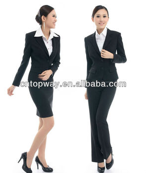 Fashion office uniform designs for women 2013