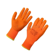 CE Polyester warm cotton gloves