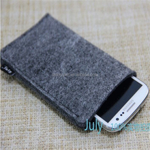 Wool felt cell-phone case