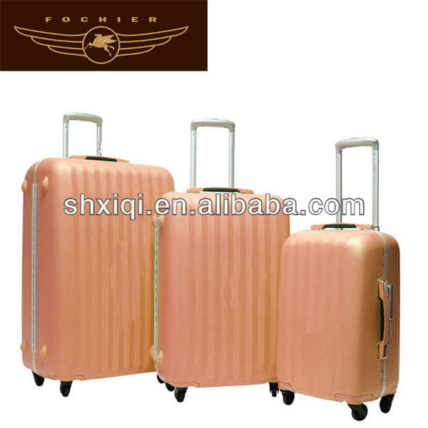 Ugly luggage with retractable wheels