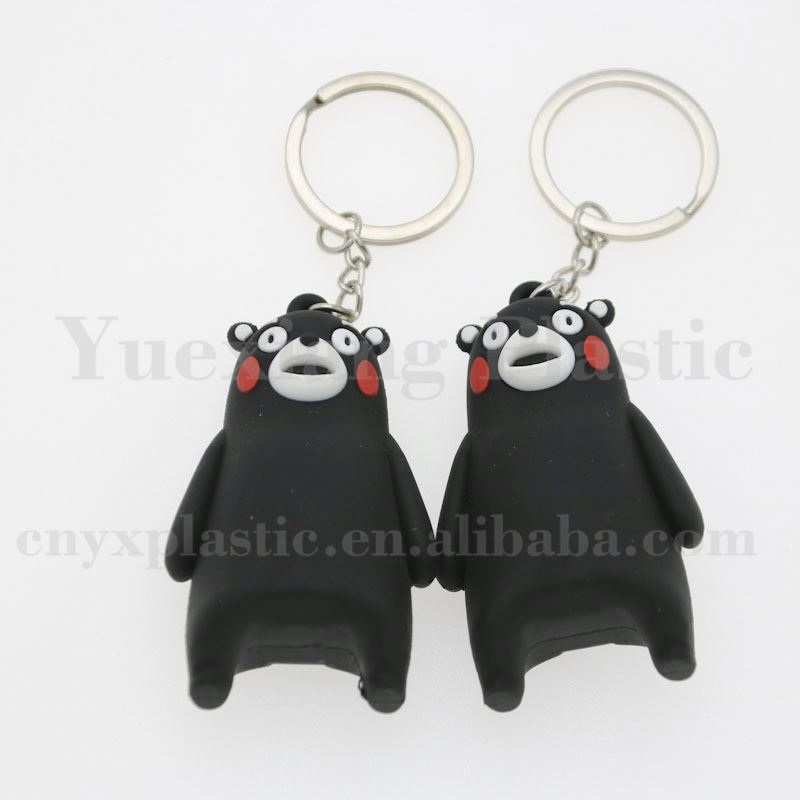 promotion cheap key chain custom innovative rubber keychains motorcycle wholesale no minimum order