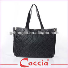 Fashional lady's black wholesale designer handbag