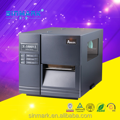 SINMARK Argox X-1000VL industrial label making machine/ thermal transfer industrial barcode printer