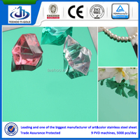 304/316 mirror colorful stainless steel sheet