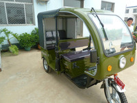 Hot Electric Three Wheeler tricycle for passenger,pure electric car